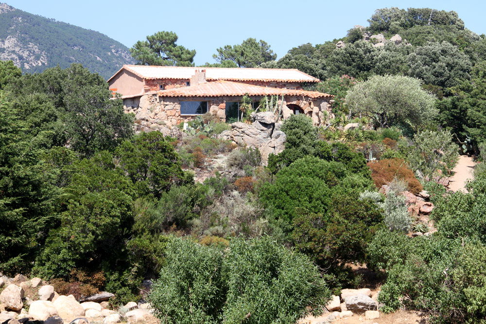 domaine de piscia corse verdure montagne nature